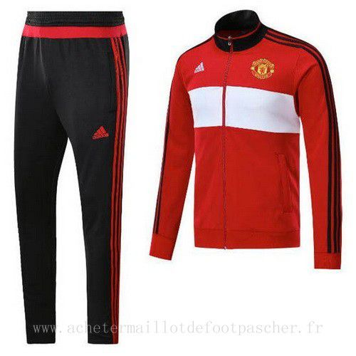 veste foot ensemble adidas rouge manchester united 2018. Black Bedroom Furniture Sets. Home Design Ideas