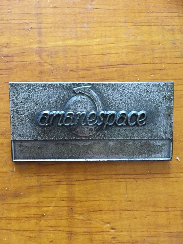 Badge @Arianespace