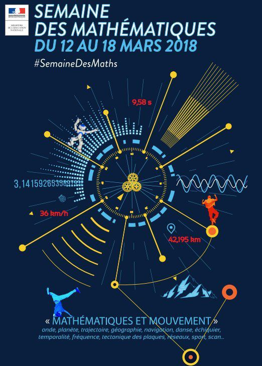 Semaine des Maths #semainedesmaths #Mathematiques @semainedesmaths