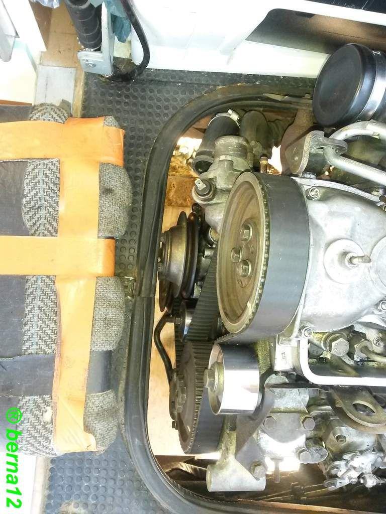 Extraire le moteur de Master T35D