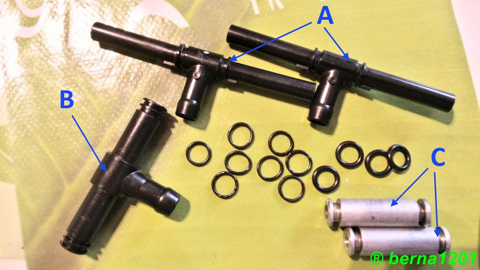 Joint torique pour liaisons carburateurs GTR 1000