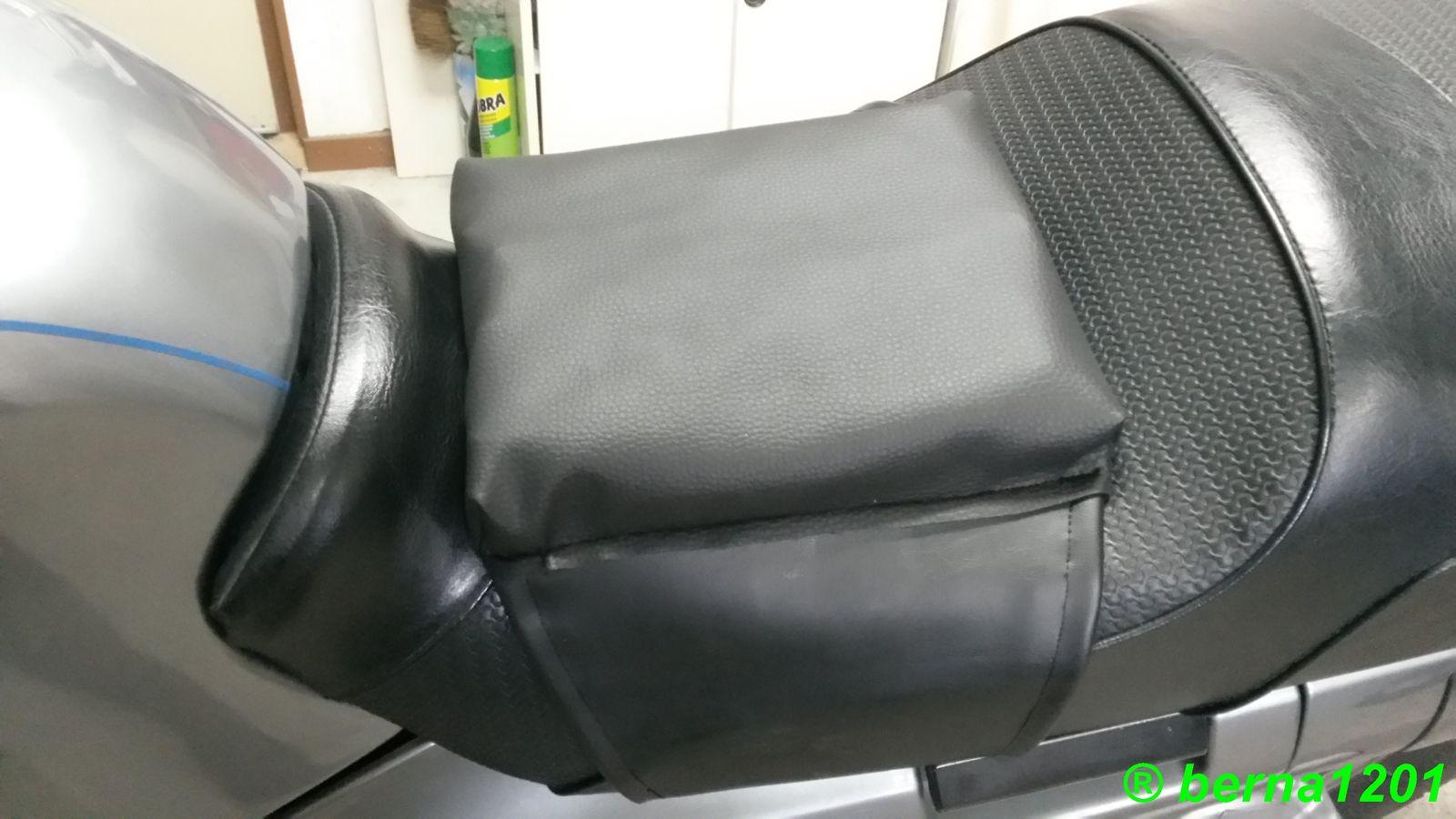 Coussin gonflable pour moto