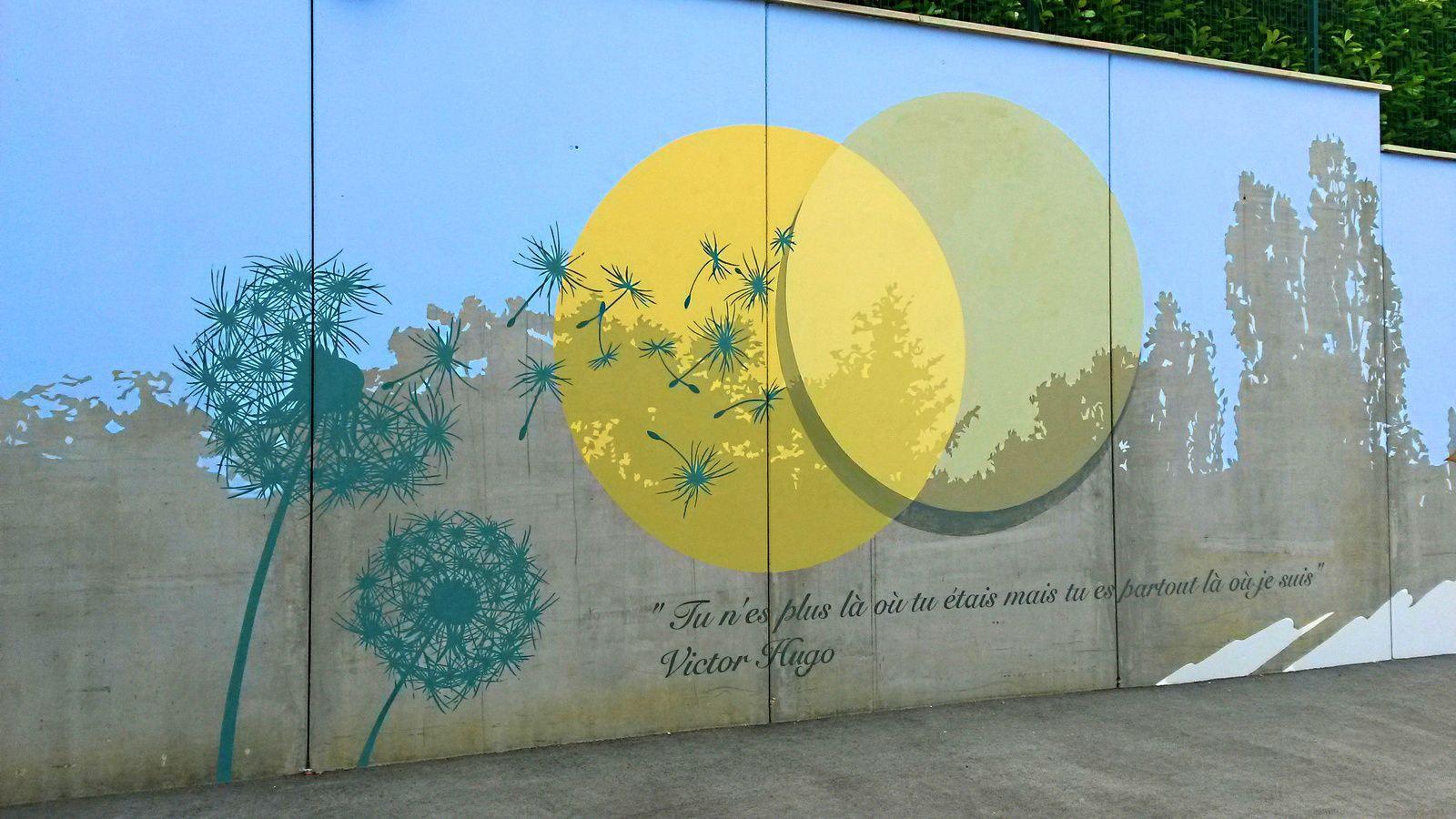 Peinture murale avec Mimile
