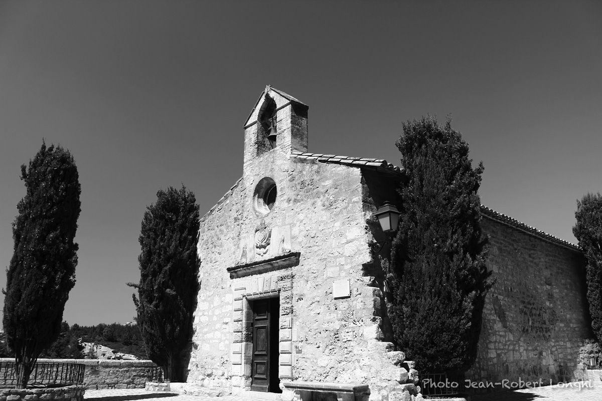 Chapelle de Pénitents Blancs, les Baux de Provence