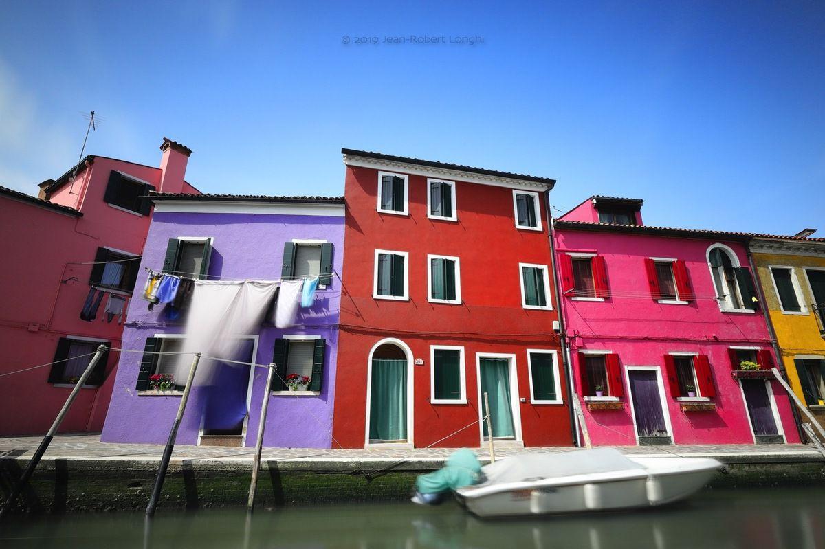 Colori di Burano 4 - ©2019 Jean-Robert Longhi Photographie non libre de droits