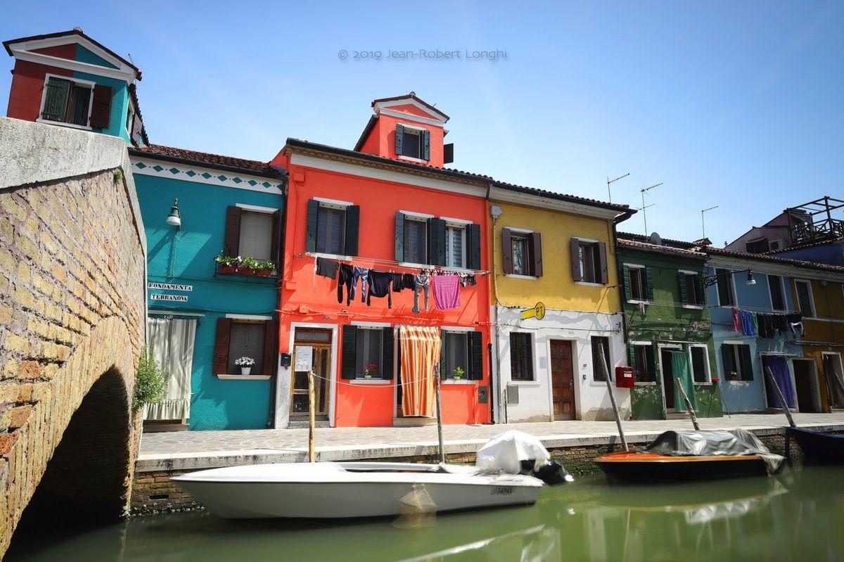 Colori di Burano 10 - ©2019 Jean-Robert Longhi Photographie non libre de droits