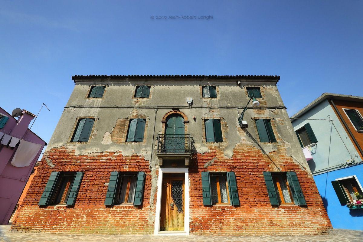 Colori di Burano 2 - ©2019 Jean-Robert Longhi Photographie non libre de droits