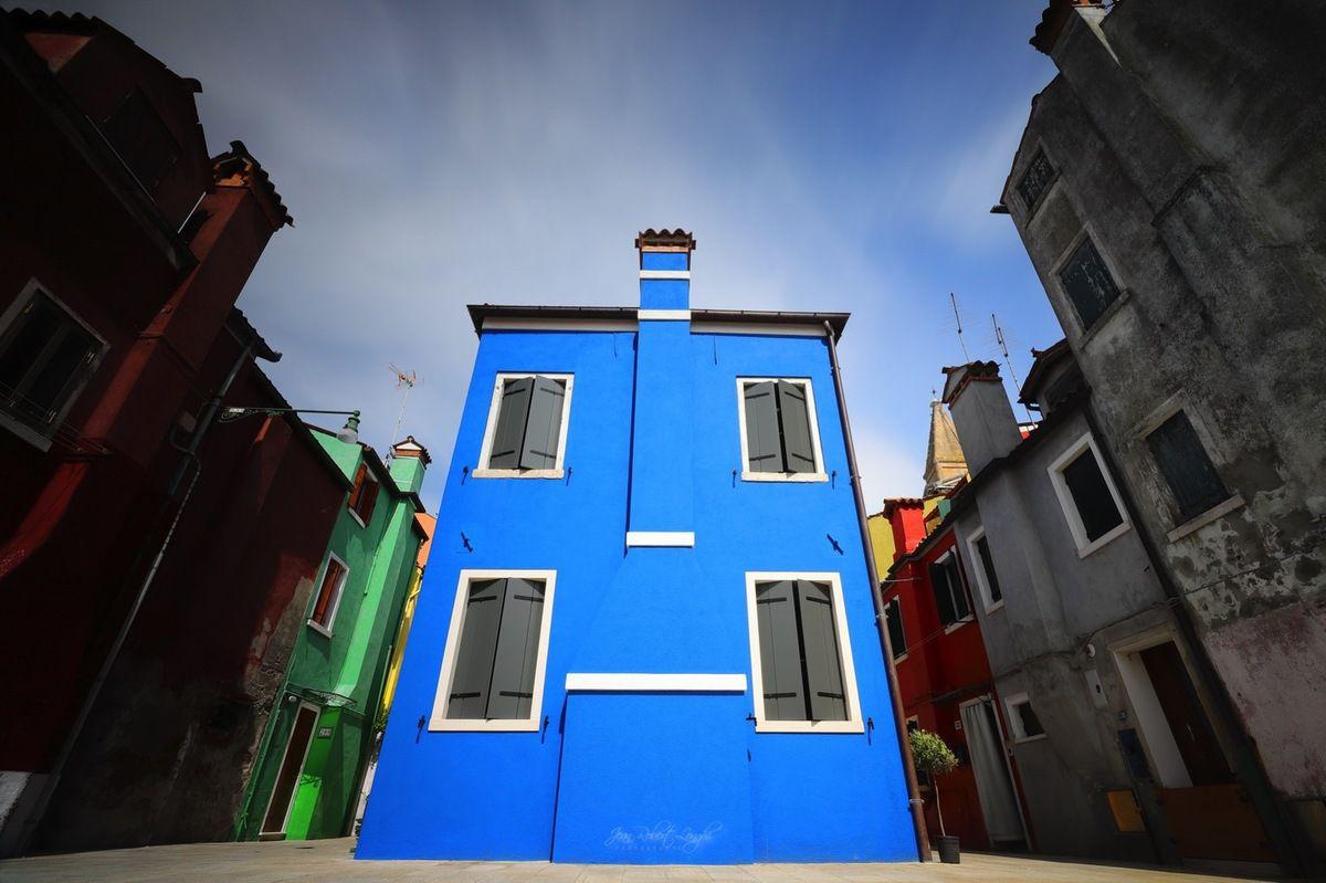 Colori di Burano 12 - ©2019 Jean-Robert Longhi Photographie non libre de droits