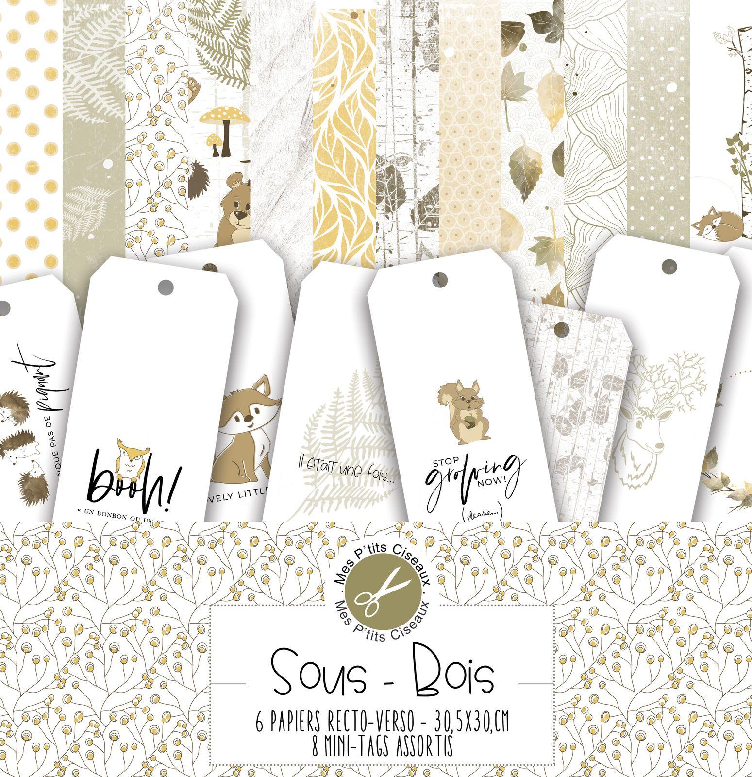 """Présentation collection """"Sous-Bois"""""""