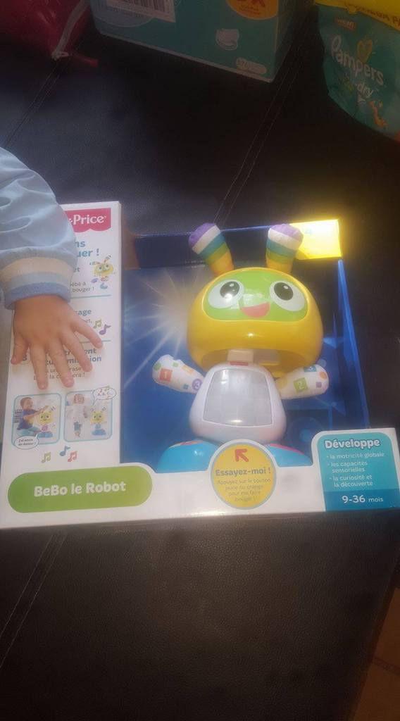Découverte de bébo le robot