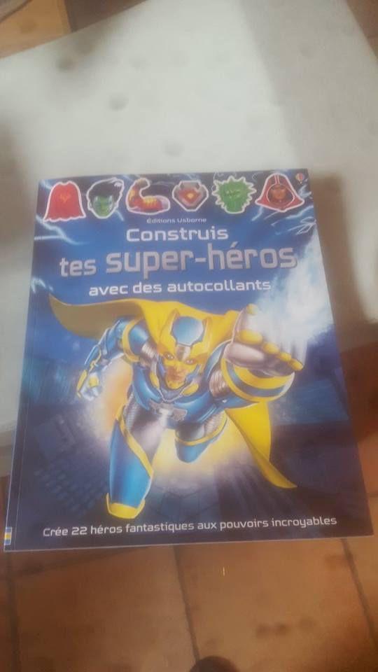 Construis tes super-héros