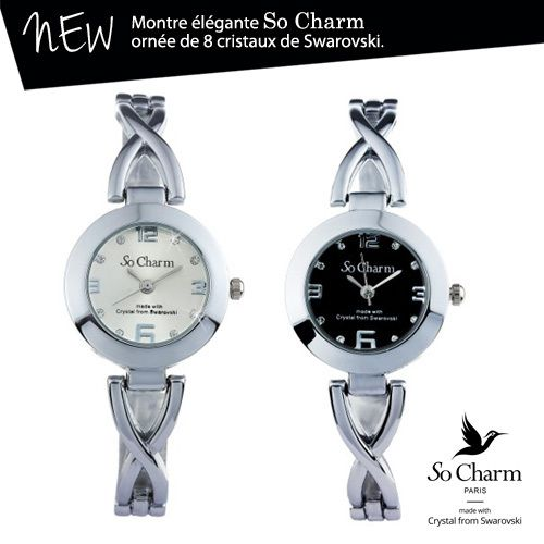 So Charm la montre élégante