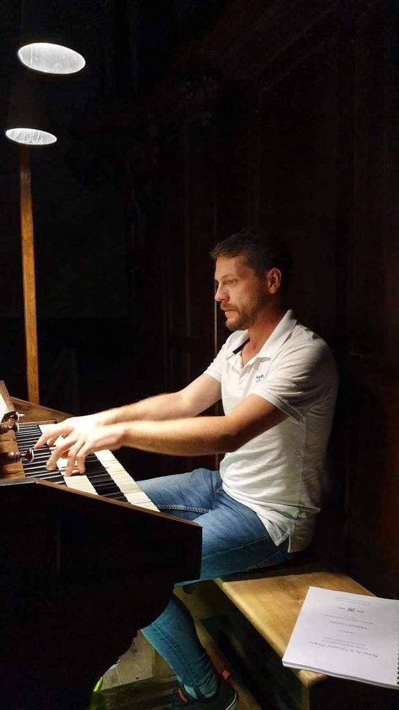 Halte musicale du 16 août : Benoît Lecoq, orgue