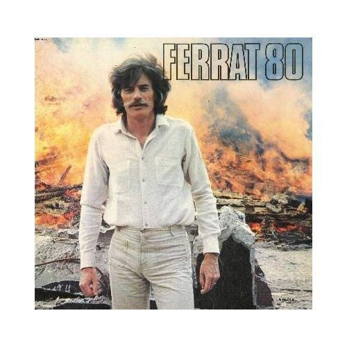 "Jean Ferra sur la pochette de son album ""Ferra 80"""