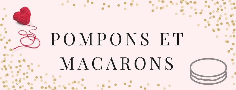 Pompons et Macarons