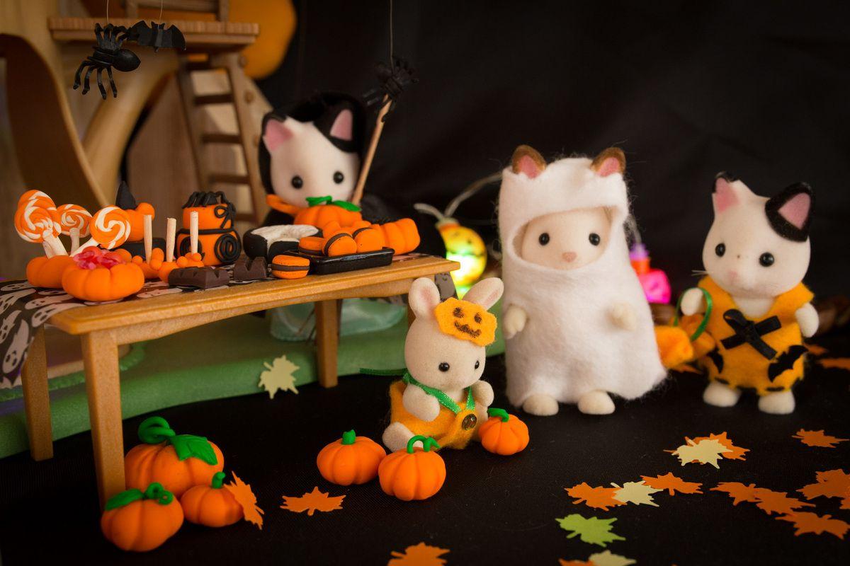 Halloween chez les Sylvanian 🎃