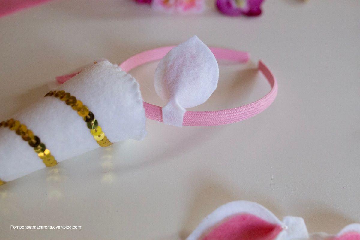 DIY: Serre-tête licorne #2 et queue de licorne