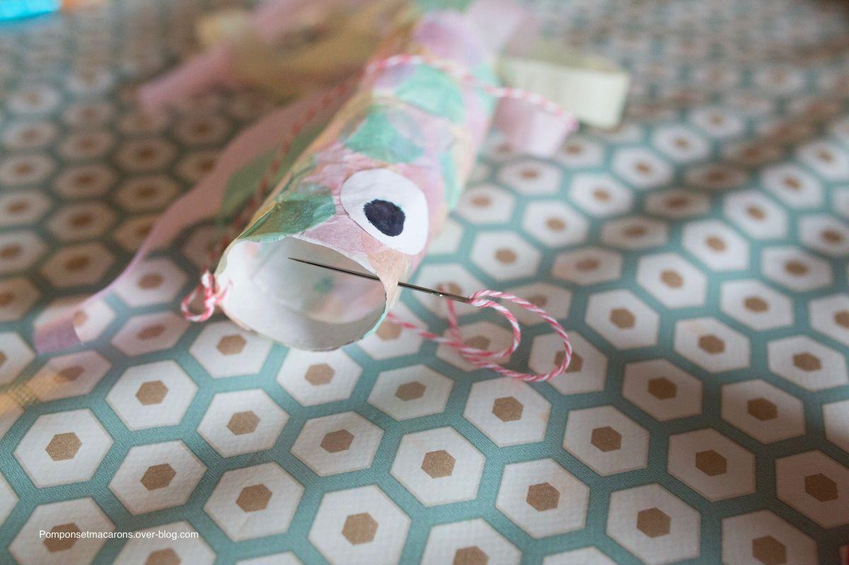 DIY: Koinobori en papier de soie