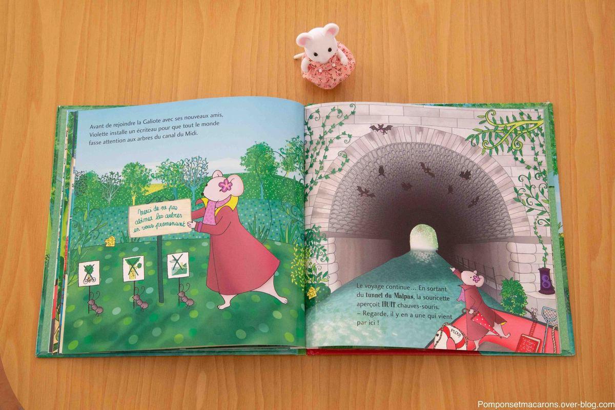 Chut les enfant lisent #7: Une balade le long du Canal du Midi