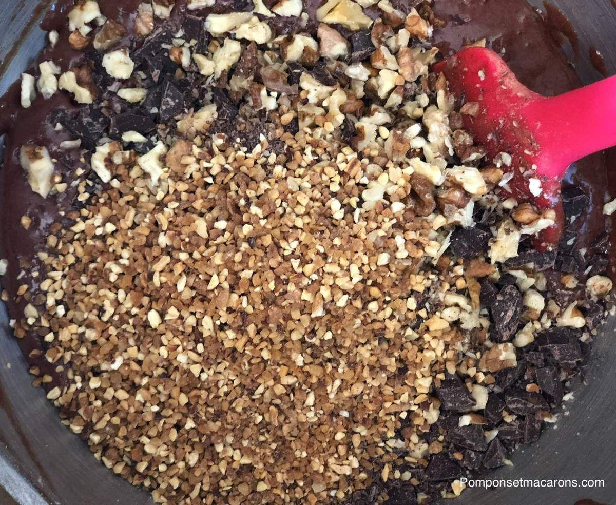 Nos goûters maison#1: Le brownie d'après une recette de Mr Conticini