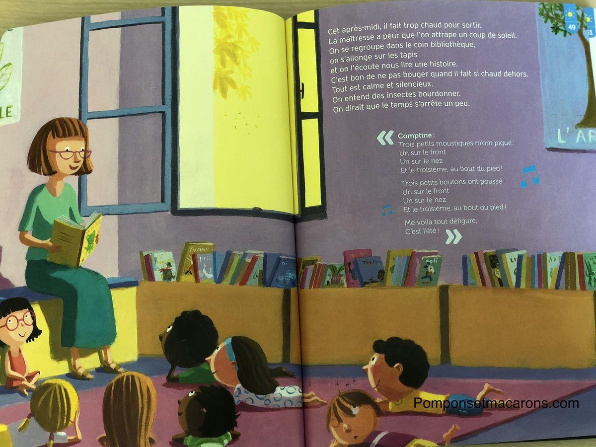 Chut les enfants lisent #9: Le livre des saisons