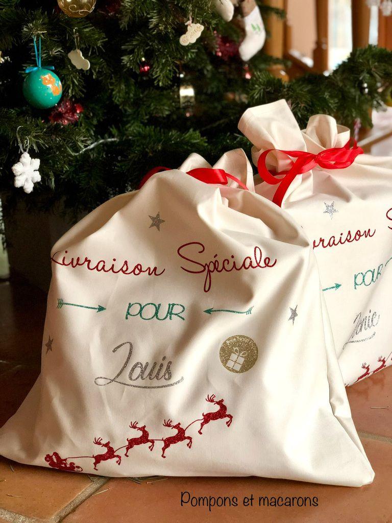 DIY Couture: La Mini-hotte de Noël