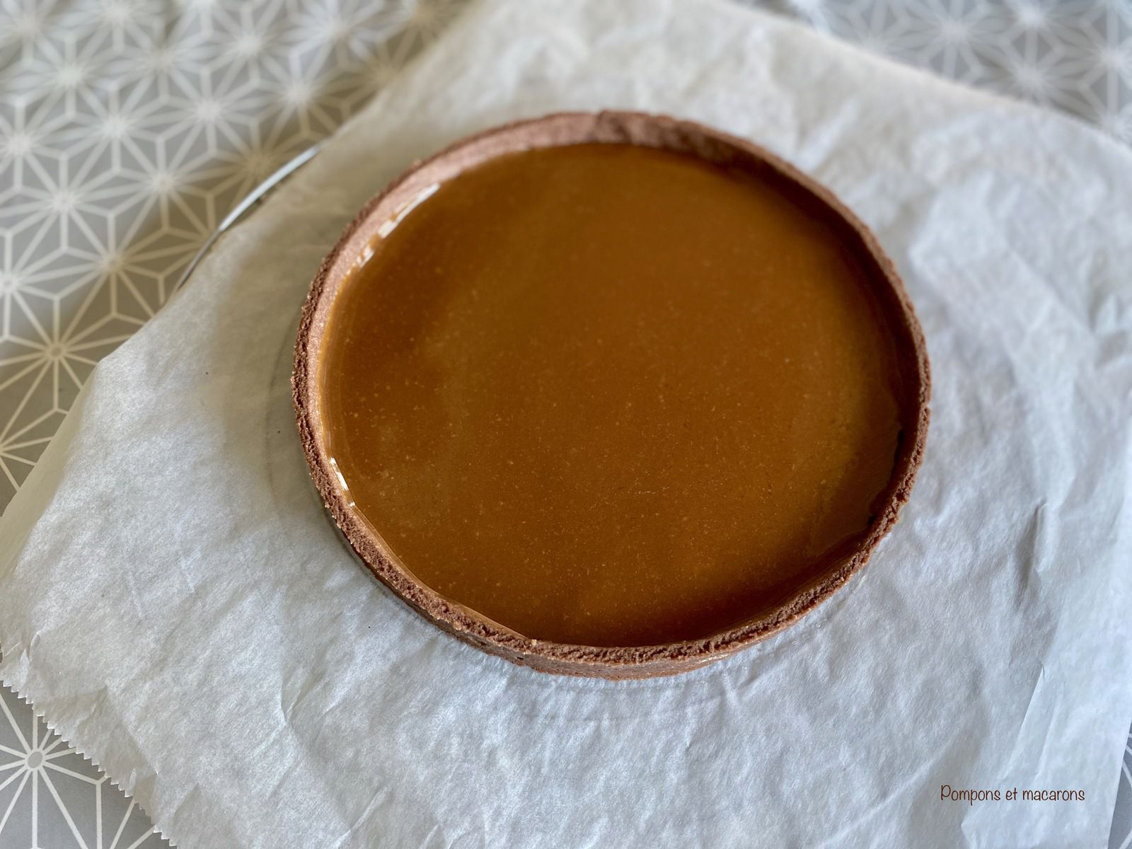 Tarte Choco-Cacahuète-Caramel onctueux du Chef Conticini