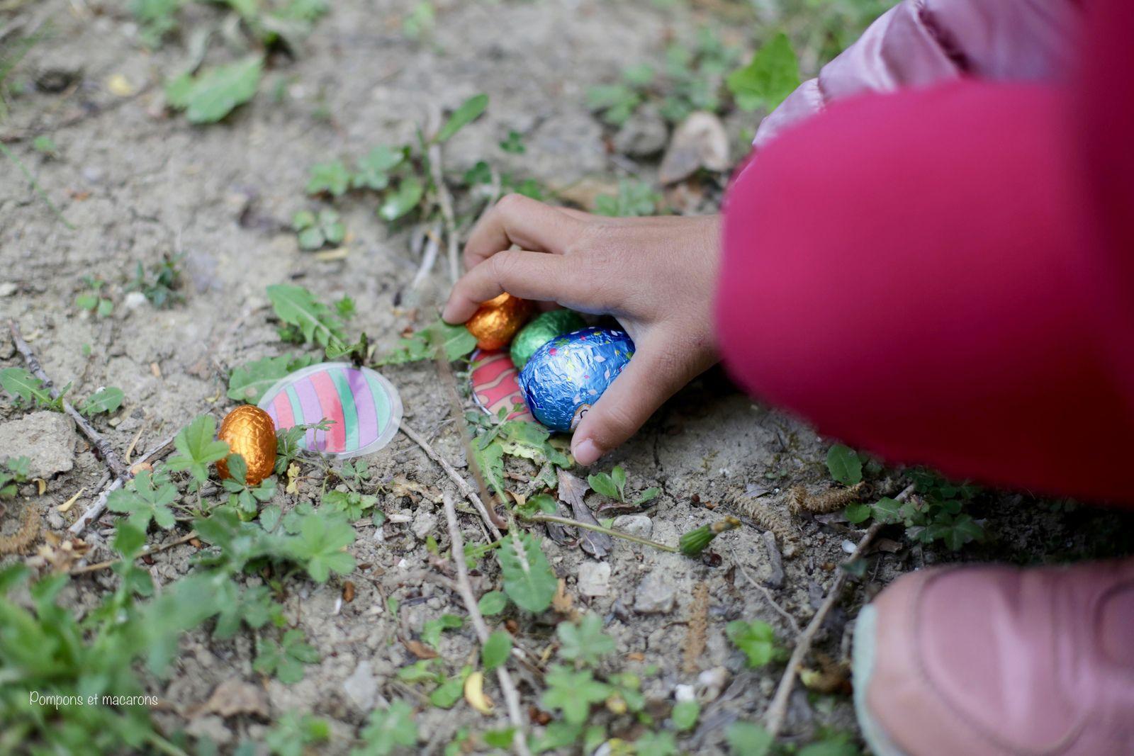 Notre chasse au trésor de Pâques