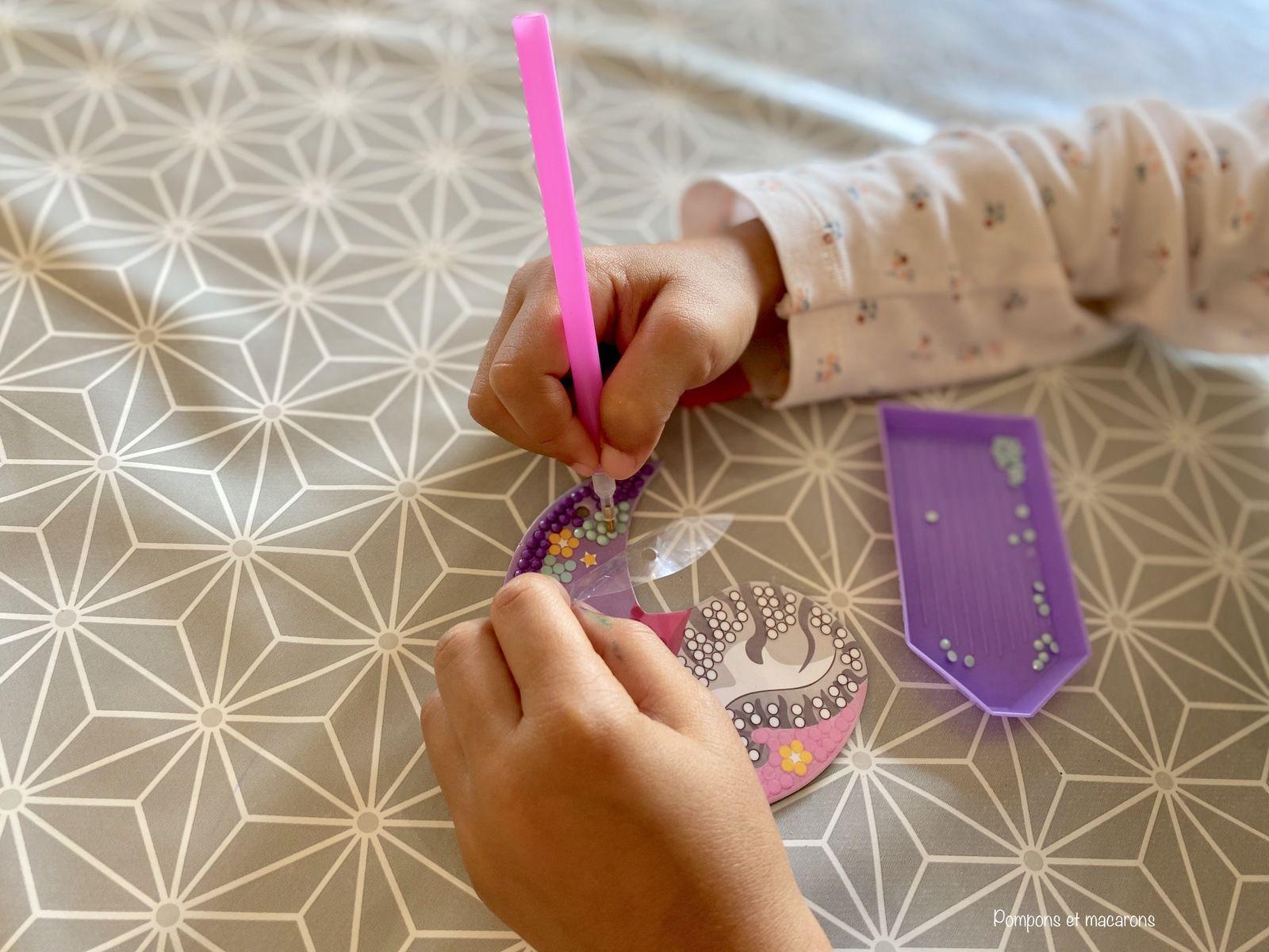 Le diamond painting pour enfant!