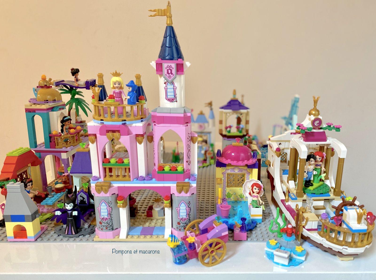 Ca y est le village des princesses Lego est retourné dans sa boîte!