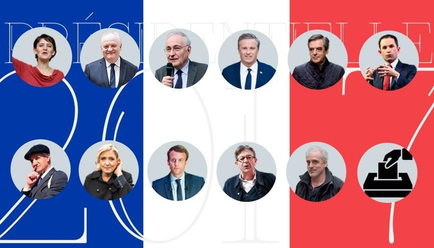 Portrait des candidats à la présidentielle 2017