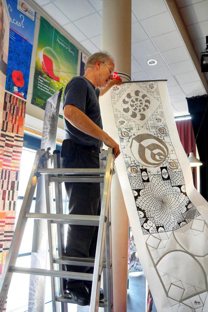"""ART RENCONTRE au Centre Culturel """"L'ORANGE BLEUE"""""""