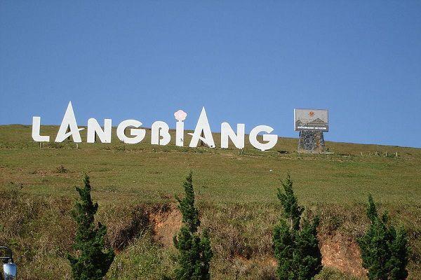 Núi Langbiang điểm đến được nhiều du khách yêu thích