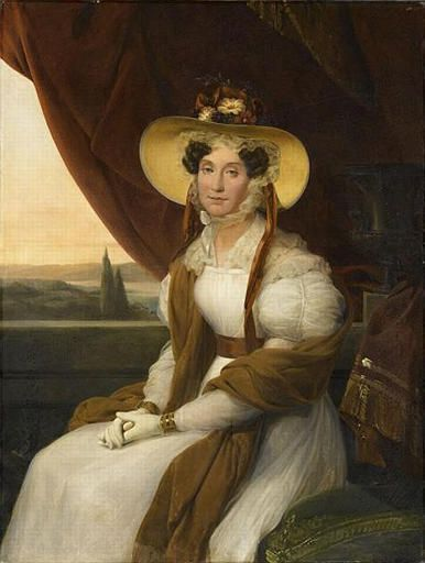 Adélaïde d'Orléans, portrait par Auguste de Creuse (1838, château de Versailles).