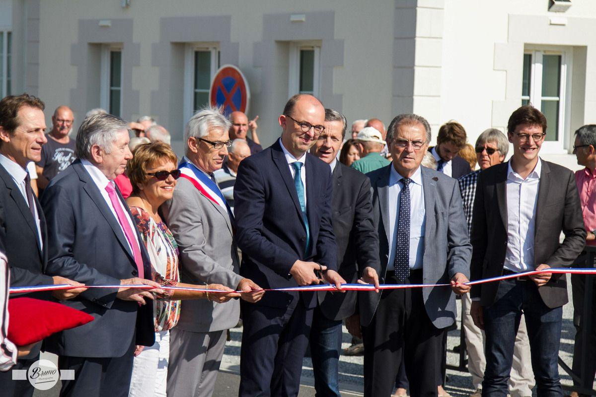 Inauguration du Centre Bourg de Fleuré...