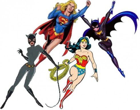 Les Super-Héros, ce sont aussi des femmes !