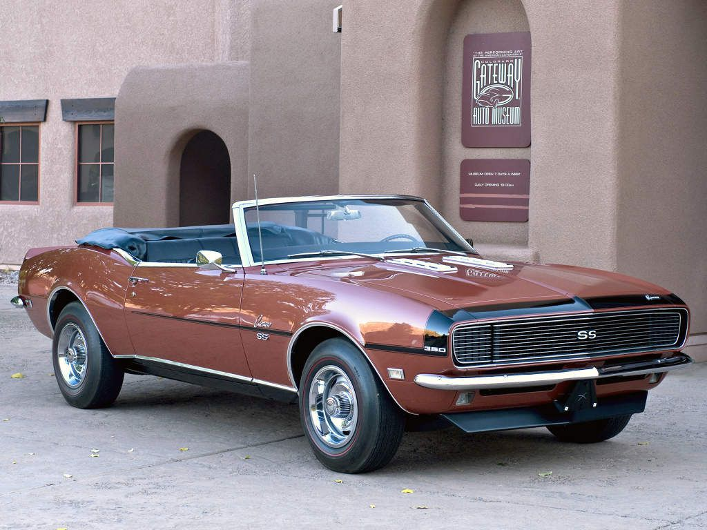 Chevrolet Camaro RS/SS 350 Convertible