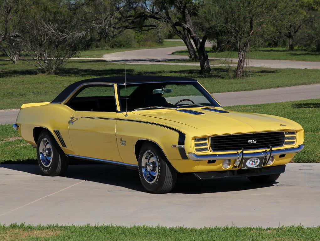 Chevrolet Camaro RS/SS 396 Sport Coupe