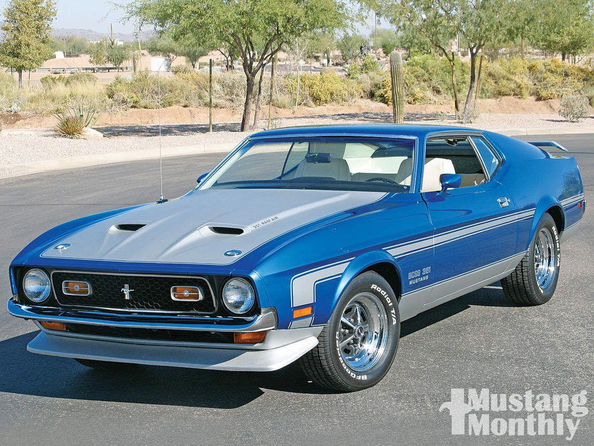 Mustang Boss 351 1971