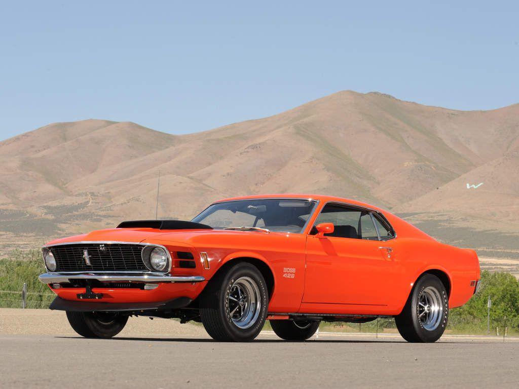 Mustang Boss 429 1970