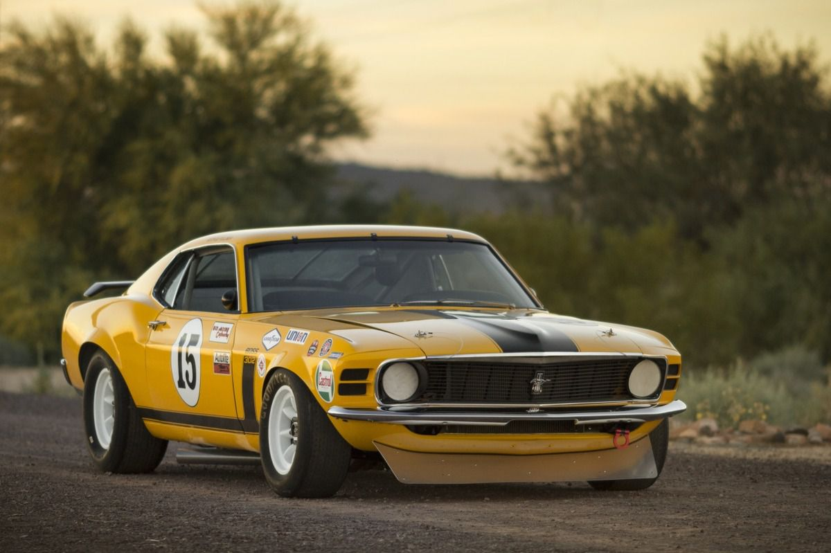 1970 Ford Mustang Boss 302 trans am