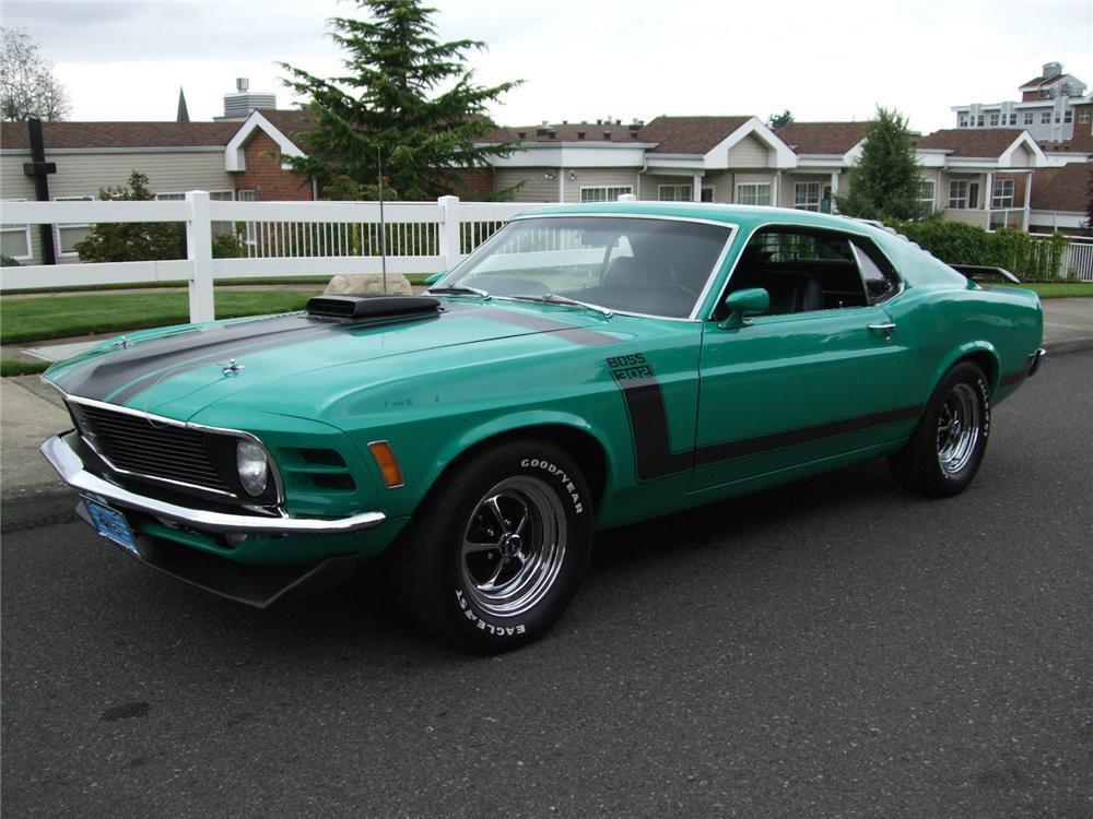 Mustang Boss 302 1970