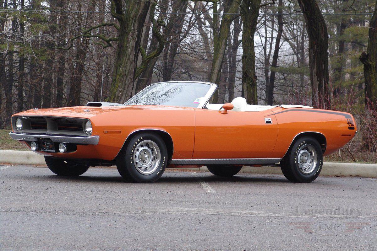 1970 Plymouth 'Cuda 440 Convertible