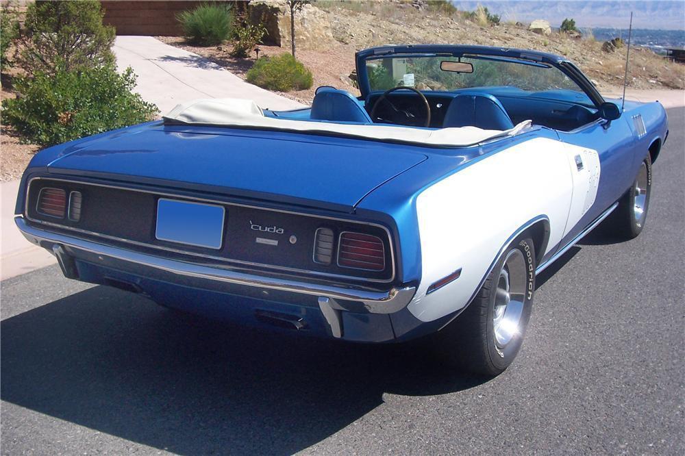 1971 Plymouth 'Cuda 383 Convertible