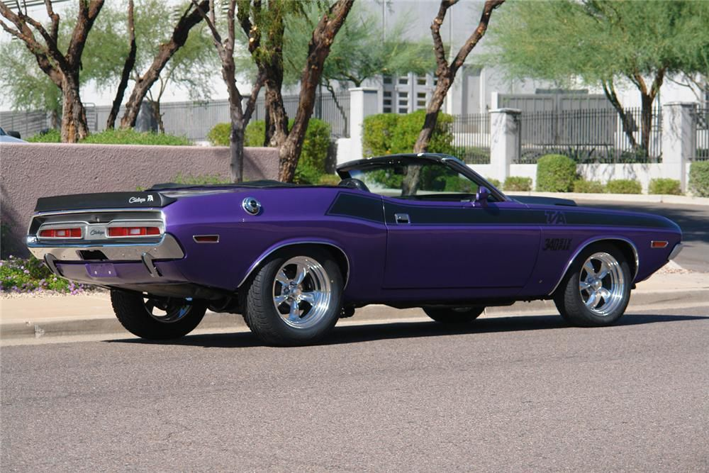 1971 Dodge Challenger T/A 340 Six Pack Convertible