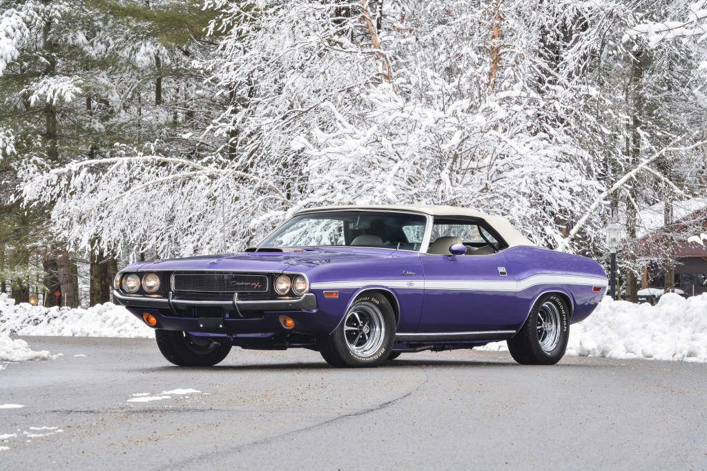 1970 Dodge Challenger R/T 440 Six Pack Convertible