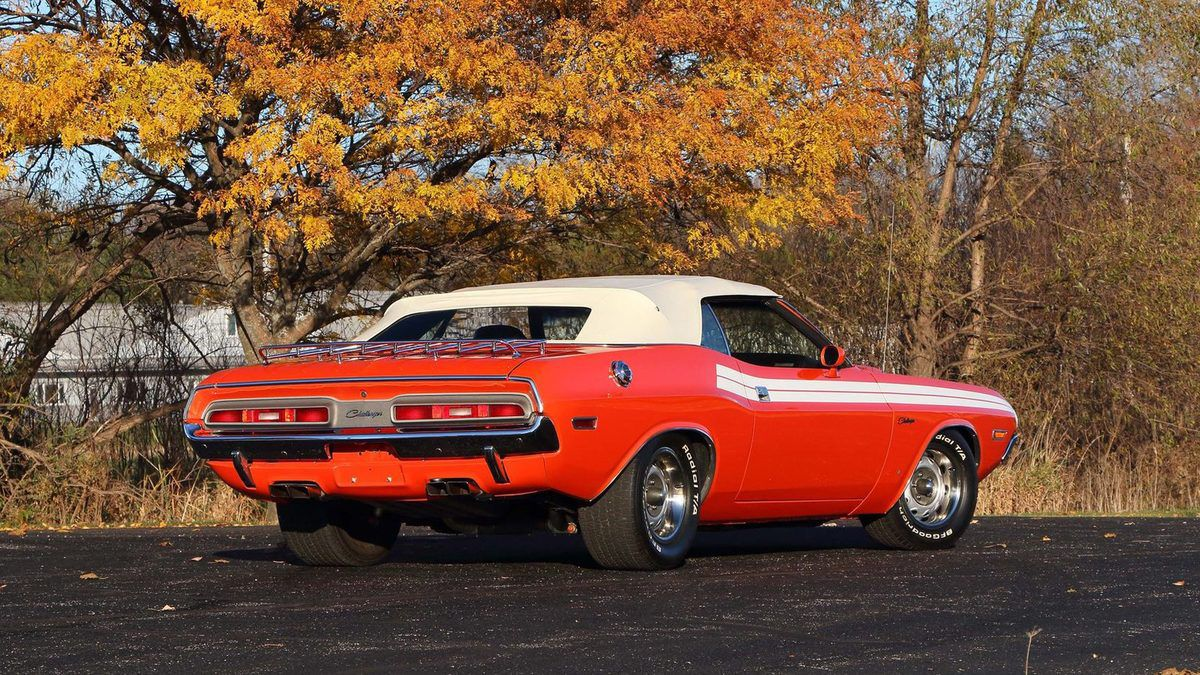 1971 Dodge Challenger R/T 383 Convertible