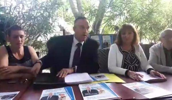 Vidéo / Conférence de presse du lancement de la campagne des législatives de Hacen BOUKHELIFA et de sa suppléante Geneviève KOEHLERCASASUS