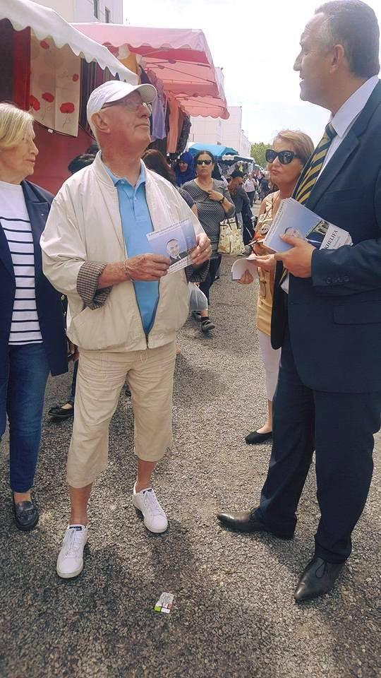 A la rencontre de nos concitoyens au marché de Nîmes Costières @ Lundi 22 mai 2017