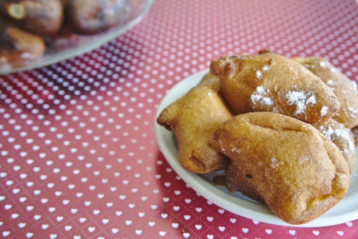 Fêtes et évènements au fil des saisons # 10 - Mardi gras - Beignets aux pommes
